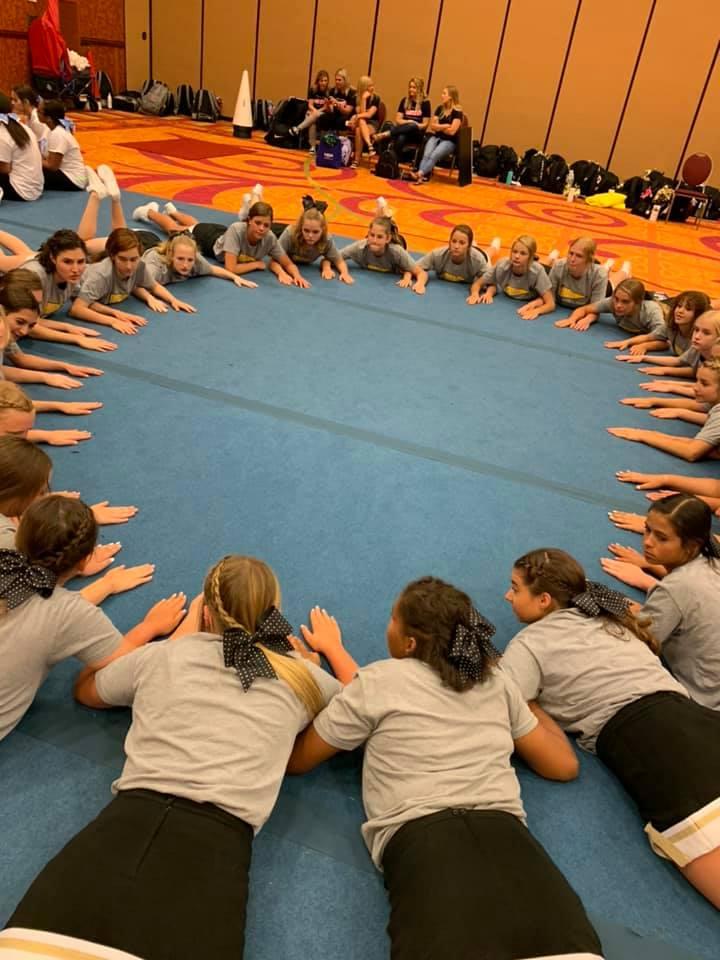 LSE Cheer Practice